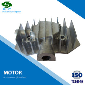 Compresor de aire de aluminio mecanizado CNC Culata