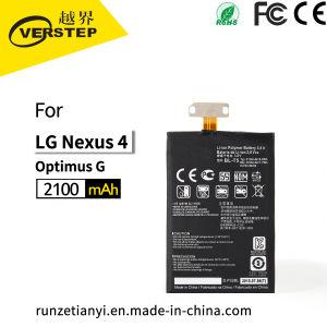 100% da capacidade real de baterias de telefone celular Bl-T5 para LG Nexus 4 /Optimus G, para LG Google Nexus 4E975 E973 E970 E960 F180 Bateria
