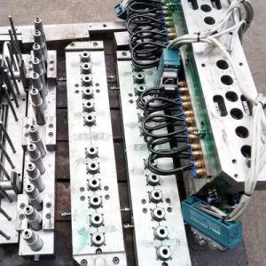 Macchina dello stampaggio mediante soffiatura dell'iniezione della bottiglia dell'animale domestico di punto della guida una della Cina