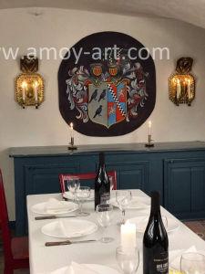 写真からなされるデンマークの城のための任務の芸術の絵画