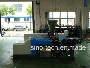 Haute capacité conique en PVC à double vis extrudeuse en plastique pour tuyau profil gamme de machines de production d'Extrusion