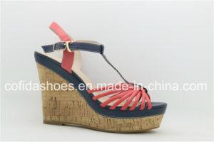Talon Fashion Lady sandale avec de charmants de la conception