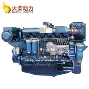 Dieselmotor 330kw van de Boot van de Motor van Weichai 450HP van de Prijs van de fabriek de Mariene Wp12
