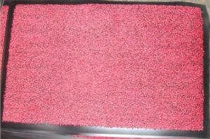Stuoia di portello di nylon antisdrucciolevole del pelo imboccolato con la protezione del PVC