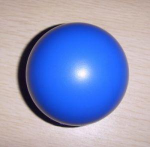 Giocattolo di figura delle sfere della pianura della sfera di sforzo della gomma piuma dell'unità di elaborazione