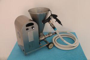 La macchina di spruzzatura intelligente per costruzione di spruzzatura impermeabile, Js e rendono incombustibile
