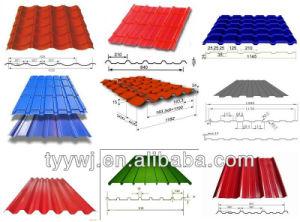 Panneau de toiture en tuile de machine à profiler double couche