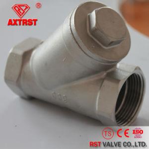 Rosca de aço inoxidável (CF8/CF8M/WCB) 800psi filtrador Y