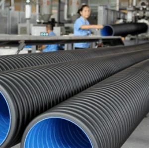 Tubo di plastica ondulato dell'HDPE per il tubo di drenaggio del giardino