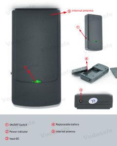 Eficaz para wifi/Bluetooth cámara inalámbrica de 1,2 GB 2.4G Blocker atascar el insecto espía Mini Pocket Jammer Teléfono Móvil de Radio de atascos de hasta 10 m.