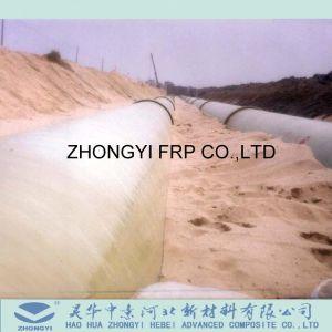 Water die de Pijp van de Watervoorziening van de Hoge druk FRP GRP Leveren