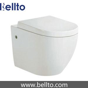 CE утверждения на стене висит туалет с потайной бачки (318W)