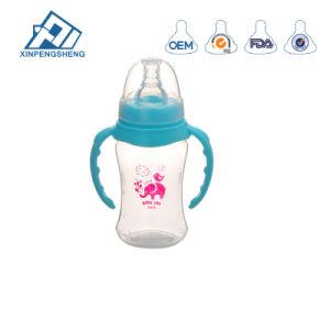 Biberão de leite do bebé mama com Tetina de silicone macio natural
