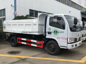 Piccolo autocarro a cassone di Dongfeng 4X2 3 tonnellate di autocarro con cassone ribaltabile da vendere
