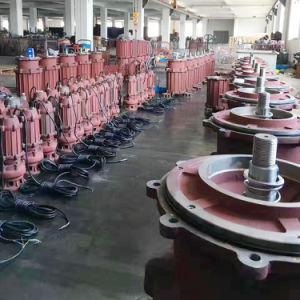 Wq prix bon marché de haute qualité des eaux usées submersible antibourrage pour usage industriel de la pompe
