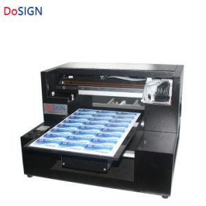 Une Imprimante UV3 Logo Stylo En Plastique Machine Dimpression De Carte Petite Entreprise