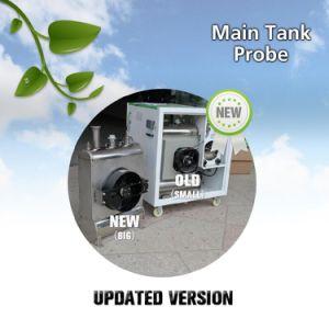 L'hydrogène générateur d'oxygène 4D en vinyle autocollant de voiture en fibre de carbone