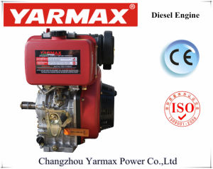 Yarmax空気によって冷却される単一シリンダー330cc 3.68/4kw 5/5.4HPディーゼル機関