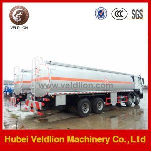 Crude Oil、DieselおよびPetrol Transport TruckのためのSinotruk HOWO 8X4 Fuel Tank Truck