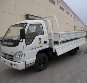 2t-5t Foton 108HP 4X2 판매를 위한 소형 화물 트럭
