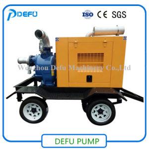 Abwasser-Pumpen-Hersteller-bewegliche Dieselselbstgrundieren-Abfall-Pumpe für Flut