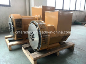 ISO Certificated 64kw Brushless Alternator Class H Standby Generator