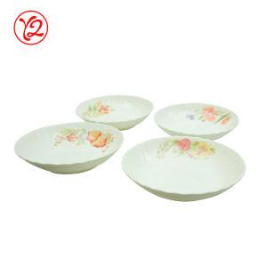 Un grand nombre de taille se gargariser de vaisselle de sécurité clair belle vaisselle Placez la plaque