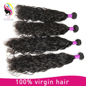 Comercio al por mayor 8A Brasil la onda natural virgen de extensión de cabello humano.
