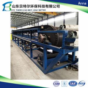 Filtro Prensa de la correa de vacío, para la desulfuración de gases de combustión de deshidratación de yeso