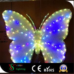 休日の彫刻の装飾の蝶ライト