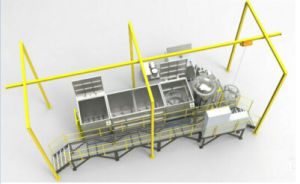 Пропитка давления завод Micro пористая герметичности механизма