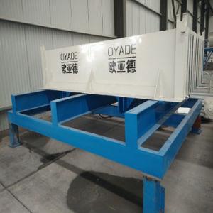 容易なインストールによってプレキャストされるセメントの具体的な空のコア平板機械