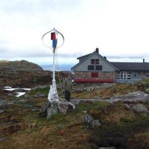 Простота установки вертикальной оси ветра мельница