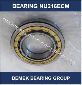 Rolamento de roletes cilíndricos Nu216ECM com compartimento de Latão