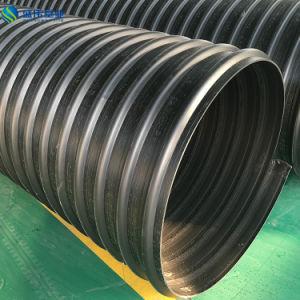 Tubo ondulato doppio dell'HDPE Sn8