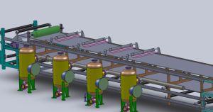 Резиновый ремень вакуумный фильтр машины