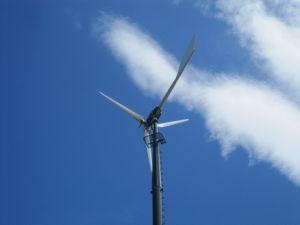 Vento Generator con Solar Panel Hybrid System
