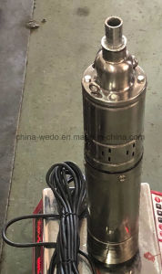 Qgd série 4pouce vis submersible Pompe à eau de puits profond