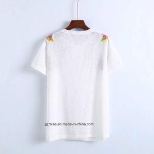숙녀는 짧은 소매 싼 t-셔츠를 도매한다