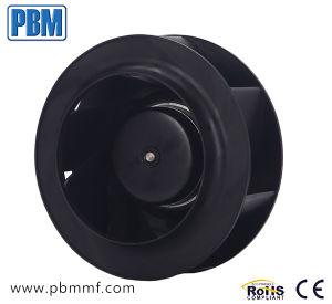 ventilador de ventilação para trás curvado do centrifugador do Ec de 225mm