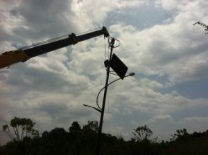 200W Wind-Solar Vertical do Sistema de luz de rua (200W-5kw)