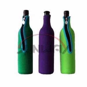 Custom Refroidisseur de bouteille de vin en néoprène isolés, porte-bouteille de bière (BC0065)