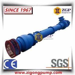 Eixo longo de turbina vertical Semi-Submersible cárter da bomba de chorume de esgotos