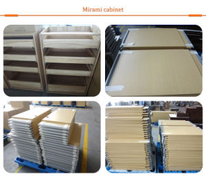 Küche-Schrank-Möbel mit Melamin bedecken Belüftung-Kantenstreifen