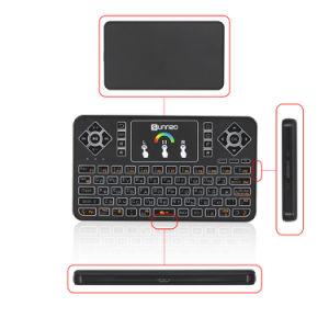 L'Air Mouse Clavier Q9 en russe Mini Support clavier Smart TV Box, PC, Pad, Google Android TV Box, Supoort HTPC 2.4GHz clavier distant sans fil WiFi
