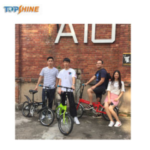 Bici elettrica portatile di Topshine 2018/bicicletta elettrica/mini E-Bici piegante