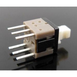 Plastica nera di RoHS del quadrato dell'interruttore di spinta degli interruttori