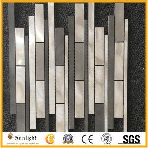Het speciale Nieuwe Mozaïek van het Glas van het Ontwerp Marmeren voor Decoratie Wall&Floor