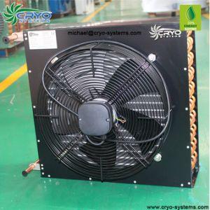 Tubo Industrial Condensador Condensador arrefecido a ar do tipo V para a sala para bagagem