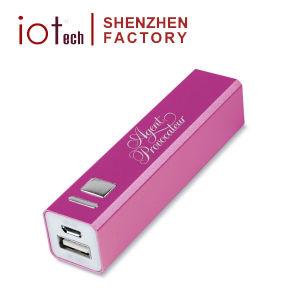 regalo de promoción barata cargador de teléfono del banco de potencia de 2200mAh